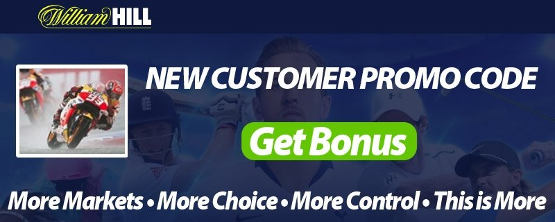 Motorcycle Racing Bets at William Hill - Free Promo Codes