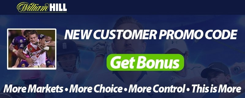 Rugby Union Bets at William Hill - Free Promo Codes