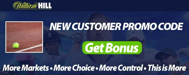 William Hill Tennis Free Bets - Free Promo Codes